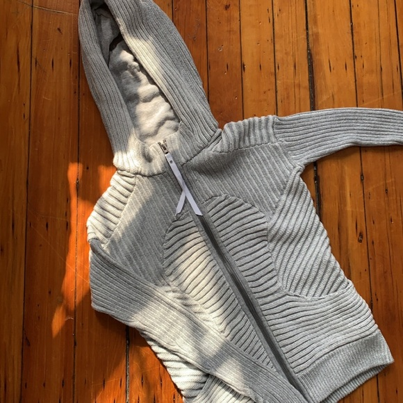 lululemon embrace knit hoodie